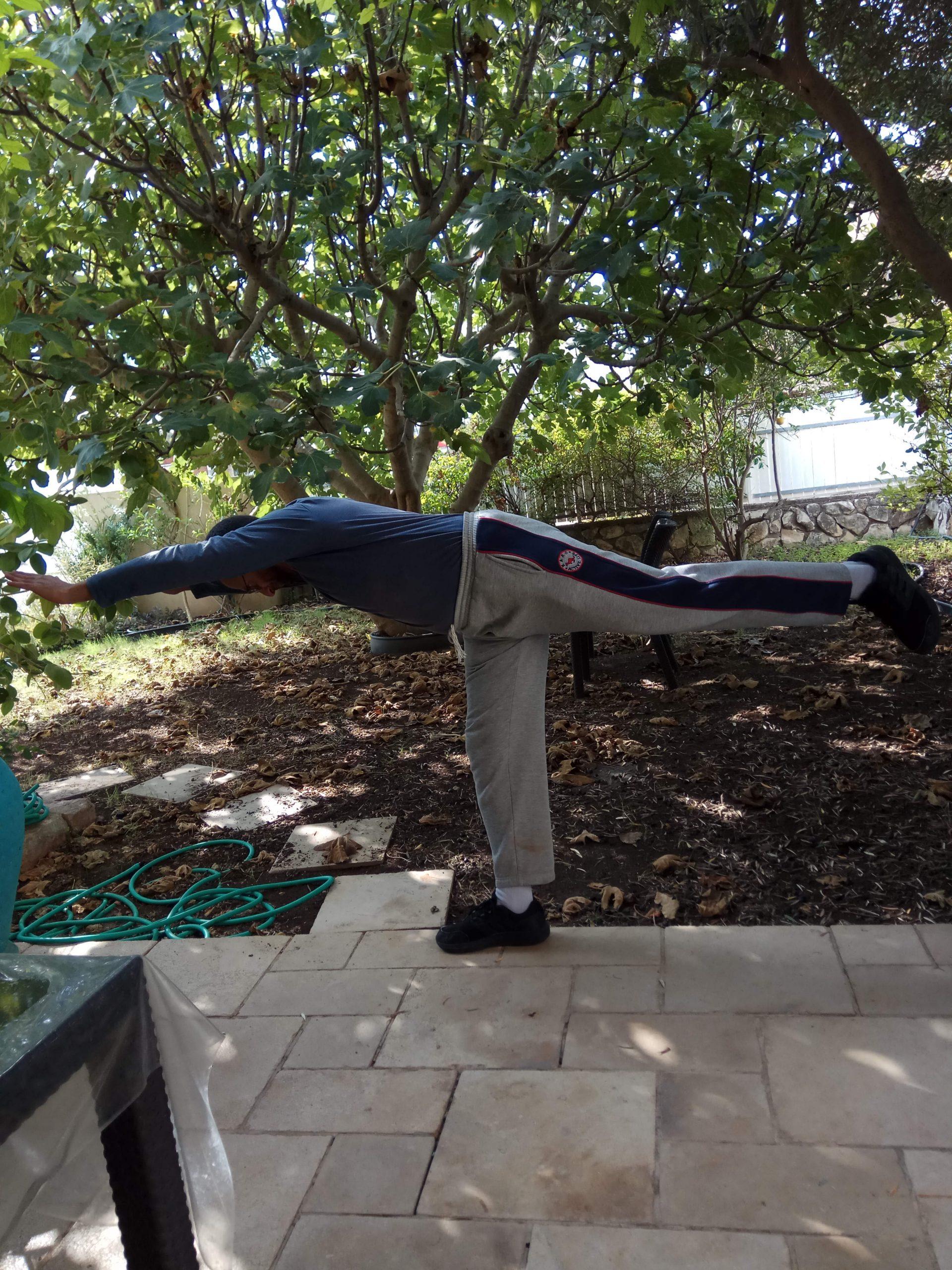 פעילות גופנית של שיווי משקל רצויה לכל הגילאים